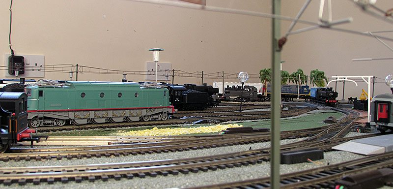 Hornby model baseboards built at modelshop woodchurch